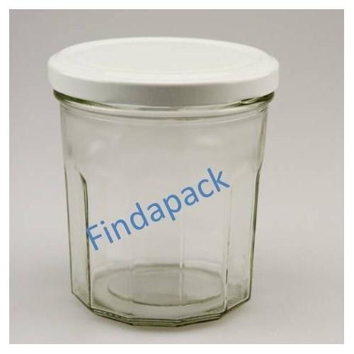 Pot Facettes 324 ml TO 82 Par lot de 12 Avec Couvercle