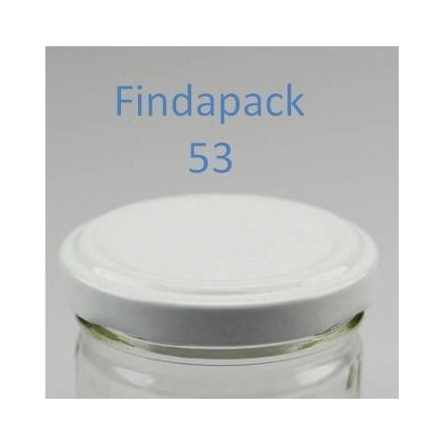 Couvercle Twist-Off 53 Sans Bisphenol A - Par Lot de 25