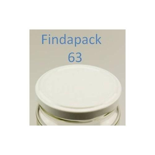 Couvercle Twist-Off 63 Sans Bisphenol A - Par Lot de 25