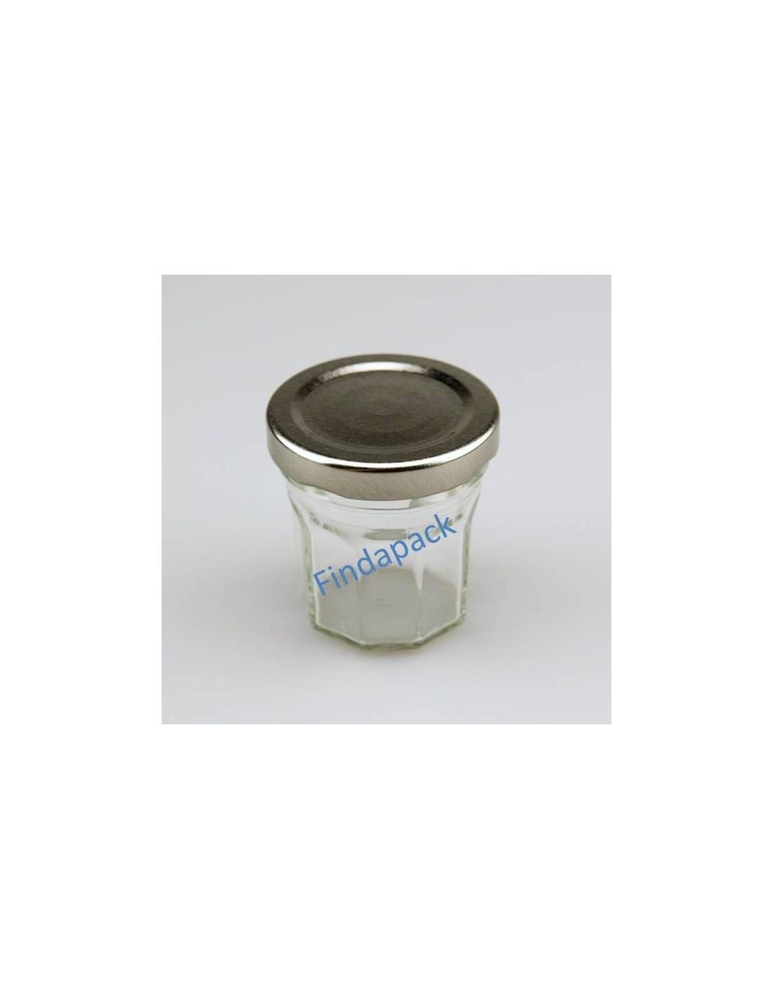 petit pot facettes 44 ml to 48 par lot de 30. Black Bedroom Furniture Sets. Home Design Ideas