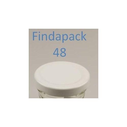 Couvercle Twist-Off 48 Sans Bisphenol A - Par Lot de 25