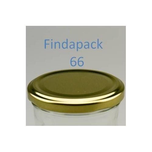 Couvercle Twist-Off 66 Sans Bisphenol A- Par Lot de 25