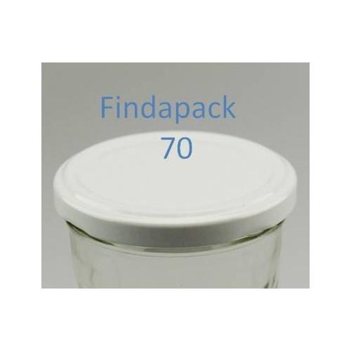 Couvercle Twist-Off 70 Sans Bisphenol A - Par Lot de 25