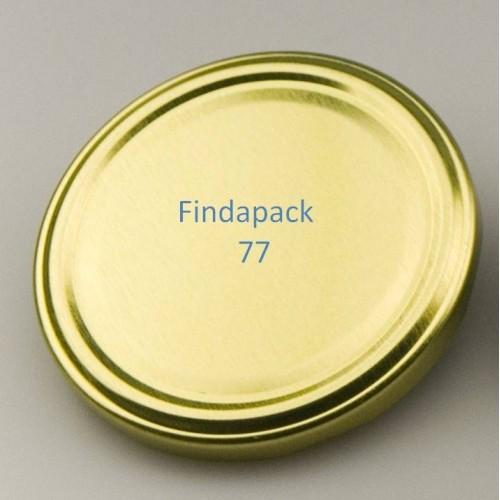 Couvercle Twist-Off 77 Sans Bisphenol A - Par Lot de 25