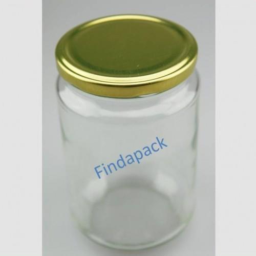 Pot Rond 750 ml TO 82 Par lot de 12 Avec Couvercle