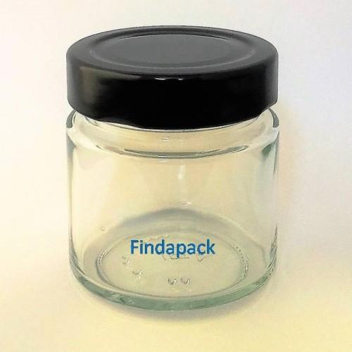 Pot Rond DEEP 135 ml DWO 58 Par lot de 12 Avec Couvercle - Findapack