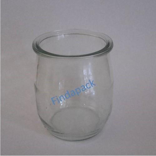 Pots Yaourt 143 ml Avec Couvercle Plastique Blanc - Par lot de 12