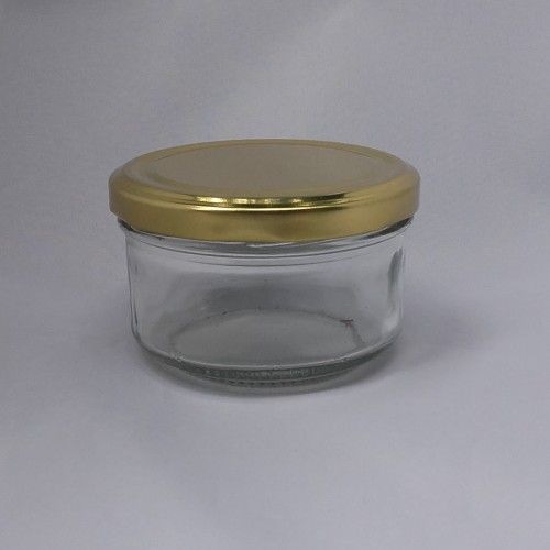 Verrine cylindrique 190 ml TO 82 Par lot de 12 Avec Couvercle