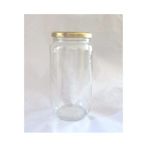 Pot Rond 1062 ml TO 82 Par lot de 12 Avec Couvercle