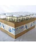 Pot Rond 70 ml TO 53 Par lot de 20 Avec Couvercle